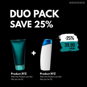 Special Offer Duo Combi Pack Deal Price Off