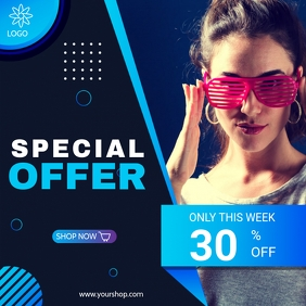 SPECIAL OFFER INSTAGRAM ADS template