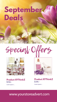 Special Offers Template Din Beauty Advert Instagram-Story