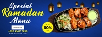 SPECIAL RAMADAN MENU OFFER Facebook-coverfoto template