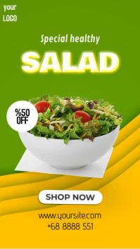 Special Salad II เรื่องราวบน Instagram template