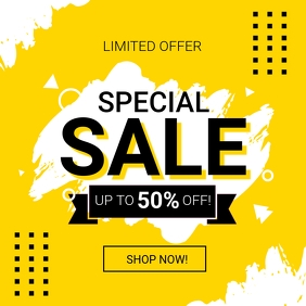Special Sale Social Media Post Template