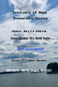 Special Service, Anniversary Service