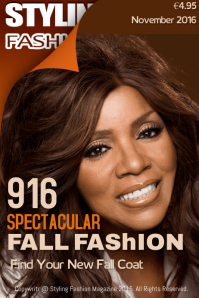 Spectacular Fall Fashion Magazine Cover