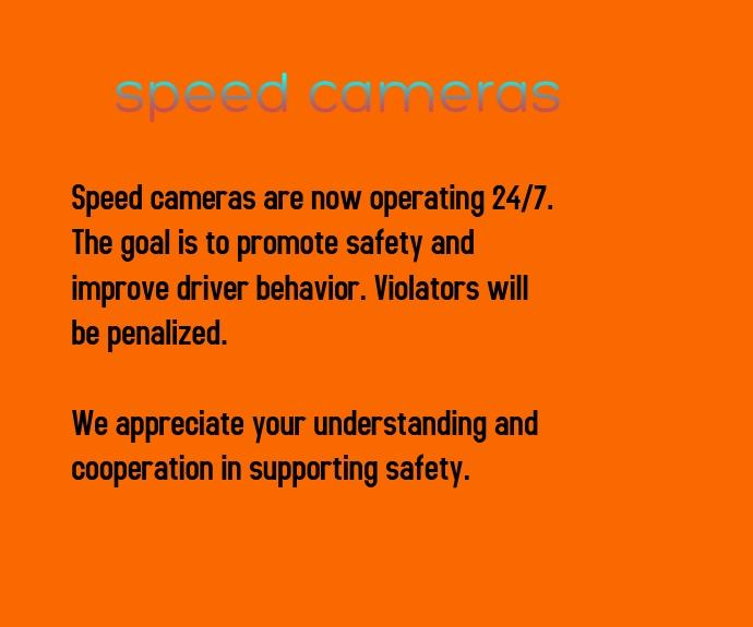 Speed Cameras Persegi Panjang Sedang template