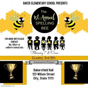 Spelling Bee Event Instagram