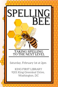 Spelling Bee Flyer