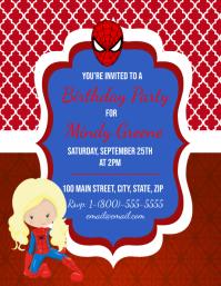Spider-Man Birthday Party