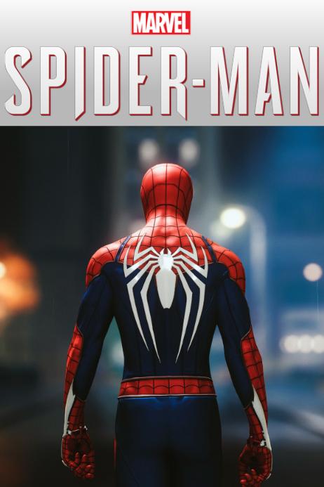 SPIDER-MAN POSTER โปสเตอร์ template
