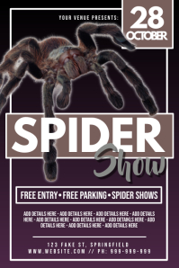 Spider Show Poster