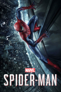 SPIDERMAN POSTER template