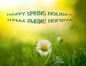 SPING HOLIDAY FLYER