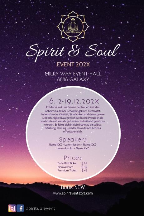 Spirit & Soul Event Seminar Retreat Healing