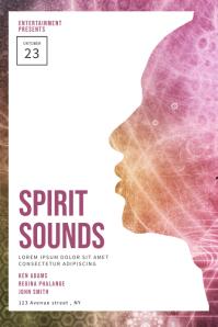 Spirit Sounds Event Flyer Template