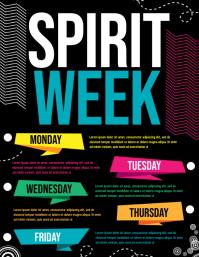 200 Customizable Design Templates For Spirit Week