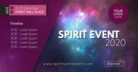 Spiritual Event Body Mind Soul Stars Mindset Facebook Shared Image template