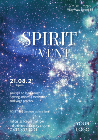 Spiritual Events Body Mind Soul Harmony Ad