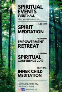 Spiritual Events Meditation Retreat seminar