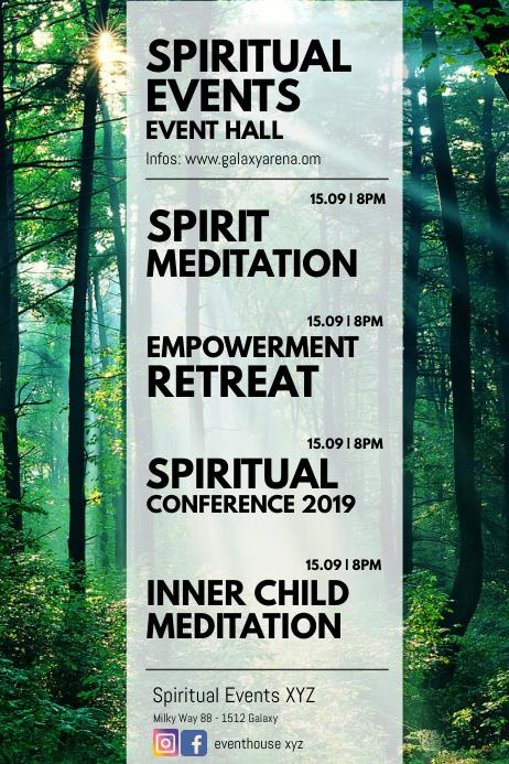 Spiritual Events Meditation Retreat seminar