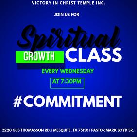 Spiritual Growth Class