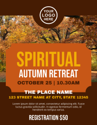 Spiritual Retreat Church Autumn Event