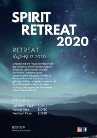 Spiritual Soul Power Retreat Seminar Event Ad