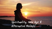Spirituality, New Age & Alternative Beliefs Digital Display (16:9) template
