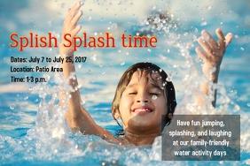 Splish Splash time
