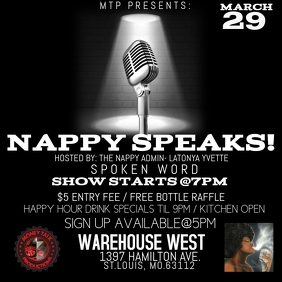 SPOKEN WORD FLYER