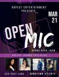 Spoken word open mic