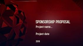 Sponsorship proposal Tampilan Digital (16:9) template