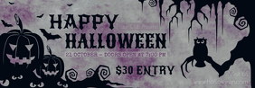 Spooky Halloween Custom Club Tumblr Header Template