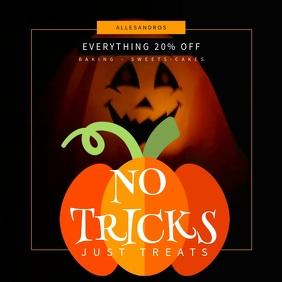 Spooky Halloween Instagram video template