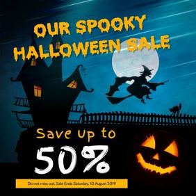 Spooky Halloween Sale Instagram Video
