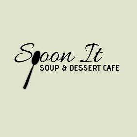 Spoon It Logo template