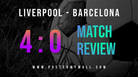 Sport Match Review Youtube Thumbnail