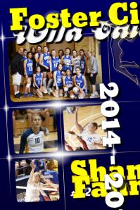 Sport team poster