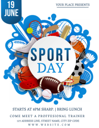 SPORT TRAINING DAY Event Flyer Template