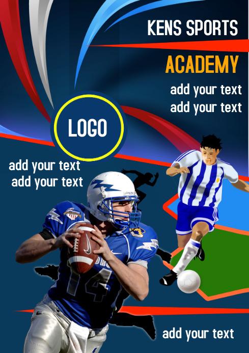 Sports Academy Flyer