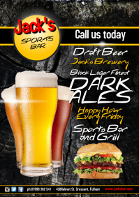 Sports Bar Flyer