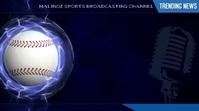 Sports Broadcasting Video Display Media template