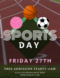 SPORTS DAY EVENT flyer template