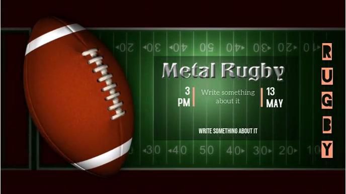 Sports Digital Display (16:9) template