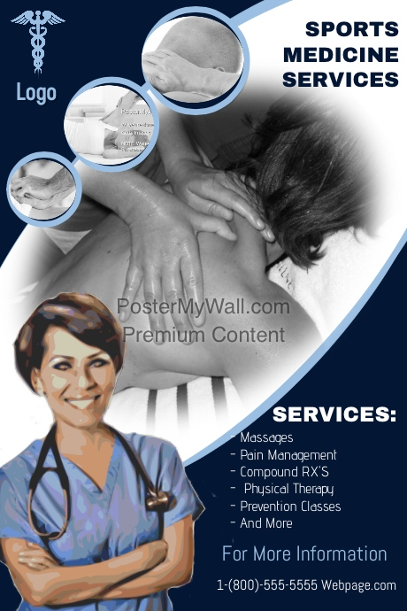 Sports Massage Template Postermywall