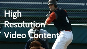 Sports promo video poster template Facebook-Covervideo (16:9)