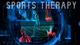 Sports therapy Video Sampul Facebook (16:9) template