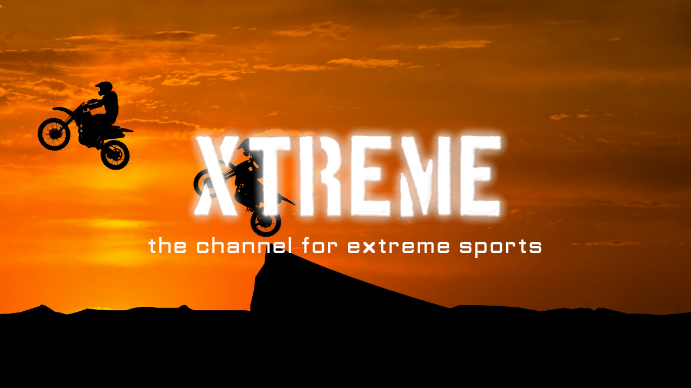 Sports YouTube Channel Art Template