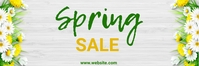spring, event, business Banner 2 x 6 fod template