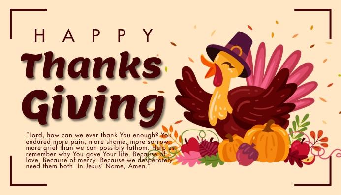 Blog header,thank you,Thanksgiving template