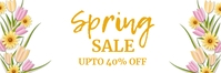 spring, event,spring card Banner 2' × 6' template